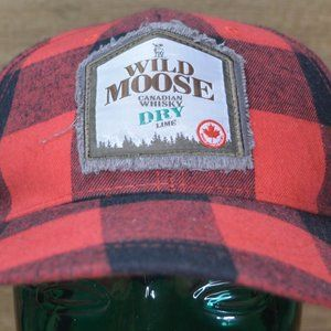 Wild Moose Canadian Whisky Red Flannel Hat